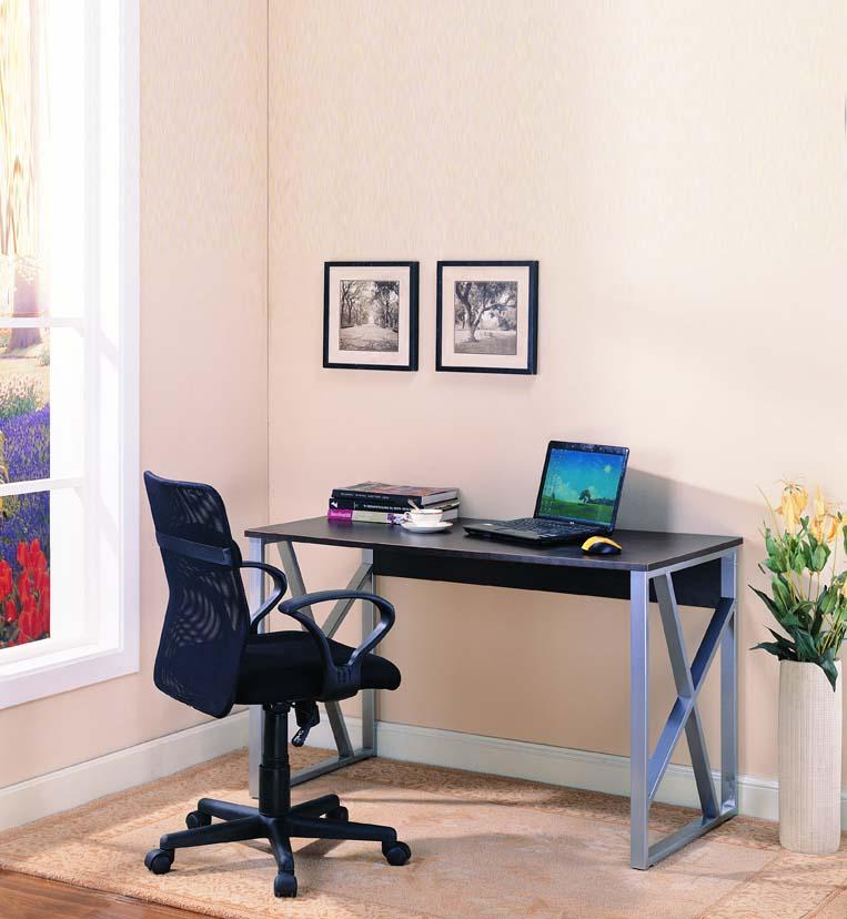 Kings Brand X Shape Design Silver Cherry Finish Wood Finish Computer Desk New Ebay